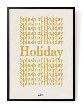 A3 A Splash Of Holiday Art Print A3 A Splash Of Holiday Art Print by Hotel Magique