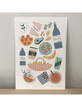 Food Print Food Print by Amelia Flower