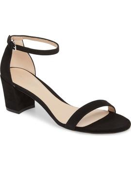 Simple Ankle Strap Sandal by Stuart Weitzman
