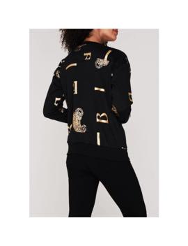 Leopard Aop Sweatshirt by Biba