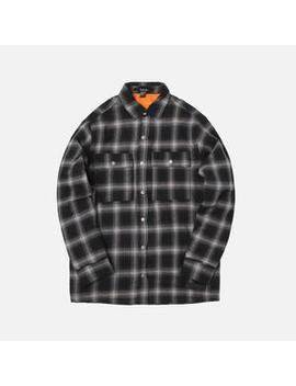 Ksubi Strata Quilted L/S Check Shirt by Ksubi