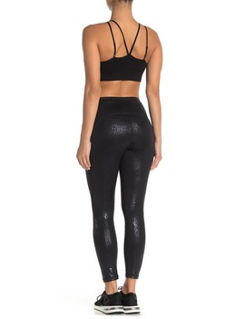 Leopard Print High Waisted Daily Crop Leggings by Z By Zella