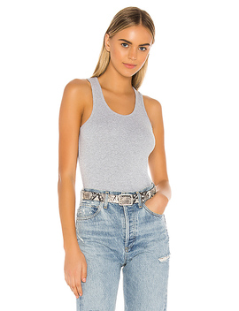 The Tank In Heather Grey by X Karla