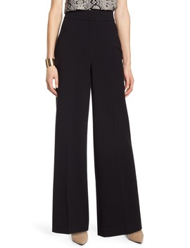 High Waist Wide Leg Stretch Twill Pants by Halogen®