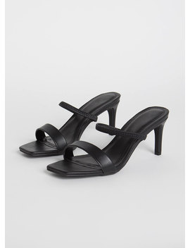 My Strappy Ever After Slip On Heels by Go Jane