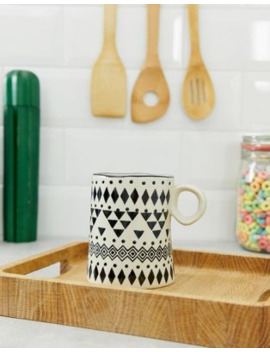 Sass &Amp; Belle Scandi Boho Wobbly Mug by Sass & Belle