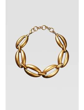 Limited Edition Oval Chain Link Necklace by Zara