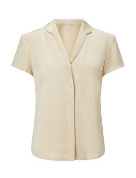 Silk Satin Shirt by Jigsaw
