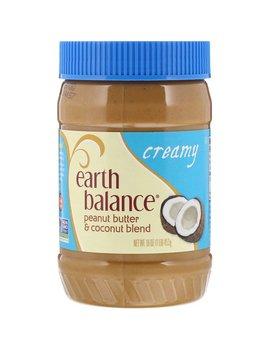 Earth Balance, Coconut & Peanut Spread, Creamy, 16 Oz (453 G) by Earth Balance