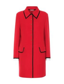 Virgin Wool Coat by Miu Miu
