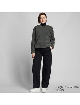 Women Fleece Lined Jumper (3) by Uniqlo