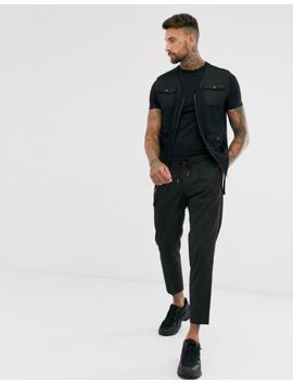 Asos Design – 2er Packung Muskel T Shirts Aus Bio Baumwolle Mit Rundhalsausschnitt – Jetzt Sparen! by Asos