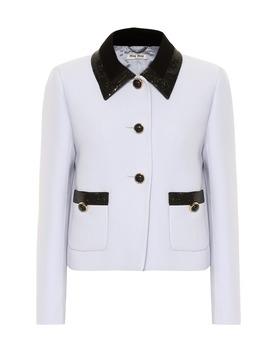 Sequined Cady Jacket by Miu Miu