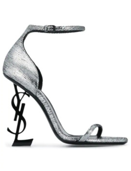 Opyum Leather Sandals by Saint Laurent