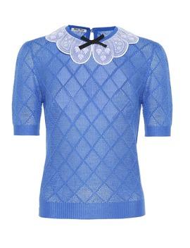 Cashmere And Silk Sweater by Miu Miu