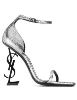 Opyum Monogram Heel Sandals by Saint Laurent