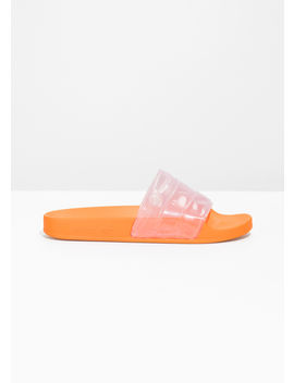 Clear Strap Pool Slides by & Other Stories