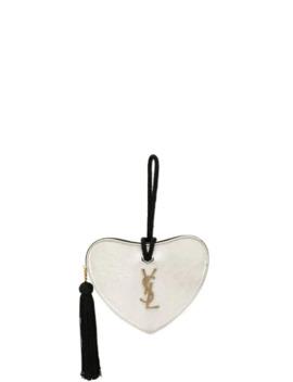 Heart Pouch by Saint Laurent