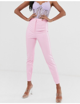 Asos Design Spray On Vinyl Trouser In Pink by Asos Design