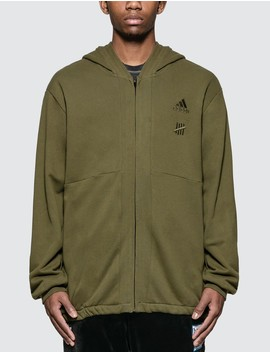 Undefeated X Adidas Full Zip Hoodie by Adidas Originals
