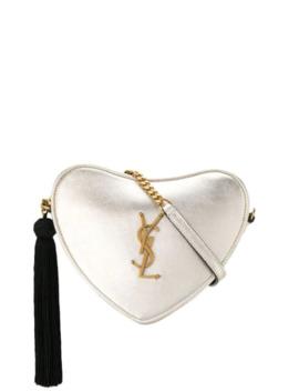 Monogram Heart Crossbody Bag by Saint Laurent
