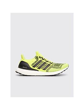 Adidas Ultra Boost Solar Yellow by Très Bien