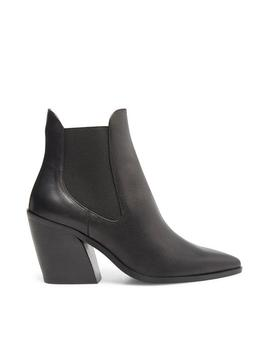 Gail Black Leather by Steve Madden