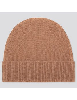 Cashmere Knitted Beanie Hat (3) by Uniqlo