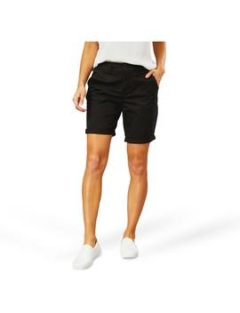 Brilliant Basics Women's Bermuda Short   Black by Brilliant Basics