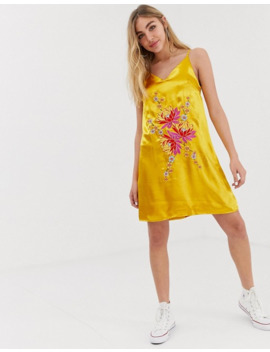 Glamorous   Vestito Con Spalline Sottili by Glamorous