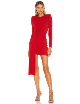X Revolve Felix Mini Dress In Red by Michael Costello