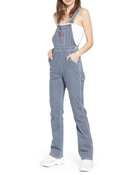 Hickory Stripe Overalls by Dickies