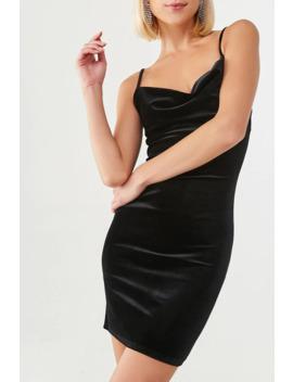 Velvet Knit Cami Dress by Forever 21
