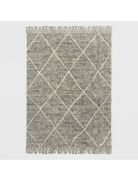 Desert Hatch Outdoor Rug Gray   Opalhouse™ by Shop This Collection