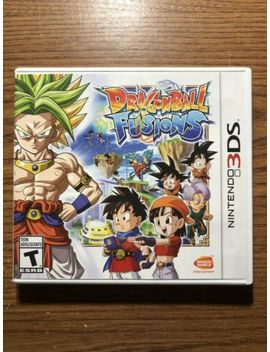 Dragon Ball Fusions (Nintendo 3 Ds, 2016) Game And Case by Ebay Seller