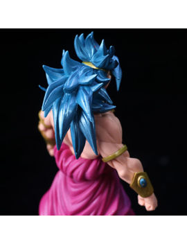 8.7'' Dragon Ball Dragonball Z Blue Super Saiyan Broly Broli Action Figure Toy by Ebay Seller