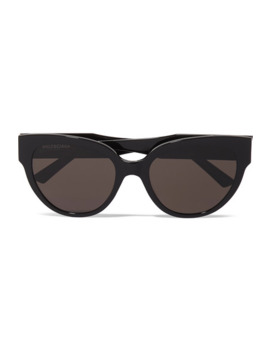 Round Frame Acetate Sunglasses by Balenciaga