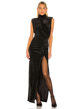 Venette Dress In Black by Ronny Kobo