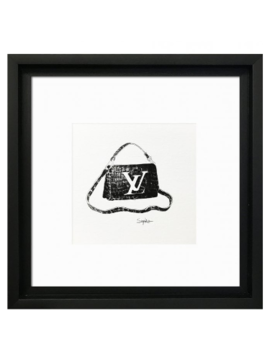Designer Bags Louis Vuitton Print Designer Bags Louis Vuitton Print by The Home Collection
