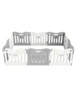 Baby Care™ Funzone Baby Playpen In Grey by Bed Bath And Beyond