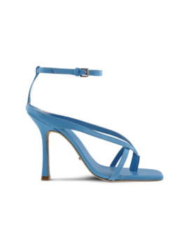 Faythe Blue Kid Heels by Tony Bianco