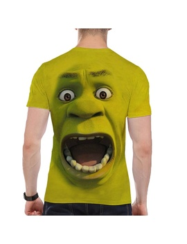 3d Print T Shirt Men Shrek Shirt Funny T Shirts Hip Hop Clothing Short Sleeve Tshirt Streetwear 2019 Summer Monster Customize Mens Clothing by Wish