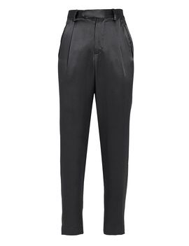 Silk Tapered Cropped Trousers Silk Tapered Cropped Trousers by Fleur Du Mal Fleur Du Mal