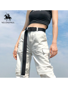 No.Onepaul Women Can Adjust The Trend Comfortable Solid Color Cloth With Brand Luxury Buckle New Casual Outdoor Tactical Belt by Ali Express.Com