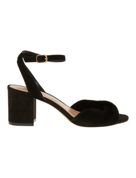 Niccala Black Sandal by Milk And Honey