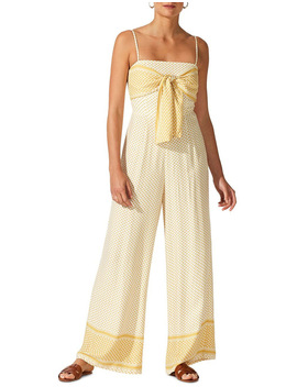 Tangier Tie Front Jumpsuit by Staple The Label