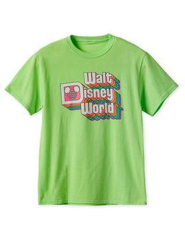 Walt Disney World Neon T Shirt For Adults | Shop Disney by Disney