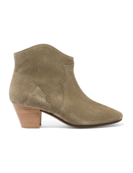 Étoile The Dicker Suede Ankle Boots by Isabel Marant