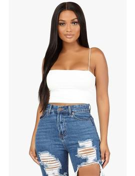 Back To Square One Crop Top by Honeybum