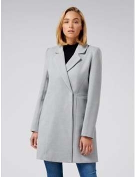 Dylain Crombie Coat by Forever New